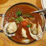 長崎産の牡蠣を使用した牡蠣カレー 薬院・ダメヤ