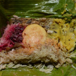 六本松、護国神社開催の蚤の市でオーラスさんのランプライス(スリランカのお弁当)