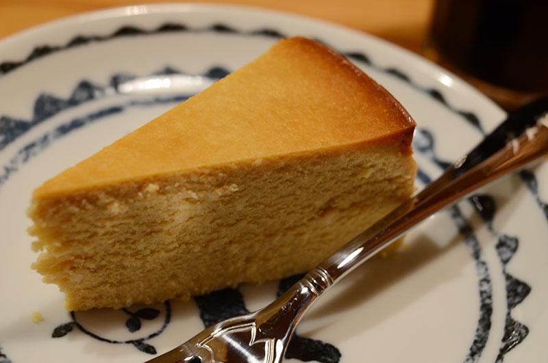 結構人ミルクホールさんのモカチーズケーキ